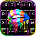 Rainbow Drip Lips Keyboard Theme