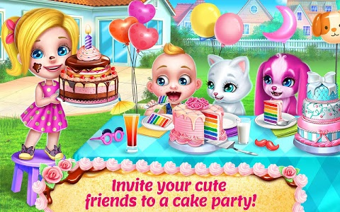 screenshot of Real Cake Maker 3D - Bake, Design & Decorate version 1.7.1