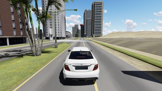 screenshot of Real Drift Racing AMG C63 version 1.0.9