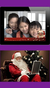 screenshot of Real Video Call Santa version 4.3.1