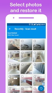 screenshot of RecovMy - Restore Deleted Photos version 1.28.6