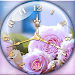 Rose Clock Live Wallpaper \ud83c\udf39