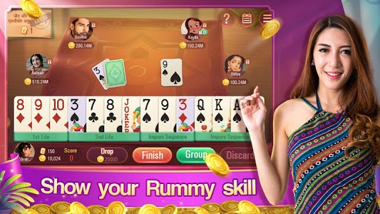 screenshot of Rummy Plus - Callbreak Indian Online Card Game version 2.486
