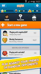 screenshot of Ruzzle Free version 2.1.5