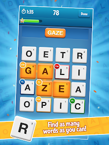 screenshot of Ruzzle Free version Varies with device