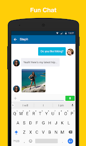 screenshot of SKOUT - Meet, Chat, Go Live version 6.12.1