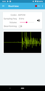 screenshot of ST BLE Sensor version 4.6.4
