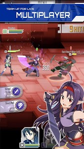 screenshot of SWORD ART ONLINE:Memory Defrag version 1.38.4