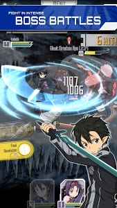 screenshot of SWORD ART ONLINE:Memory Defrag version 1.38.2