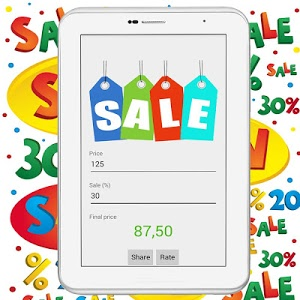 screenshot of Sale price calculator free version Cookies help us deliver our se