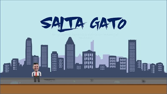 screenshot of Salta Gato version 0.1