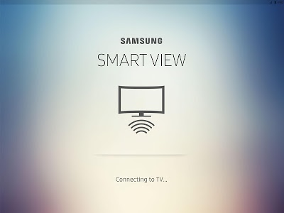 screenshot of Samsung Smart View version Varies with device