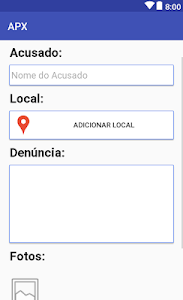 screenshot of Sentinela Ambiental version 1.2