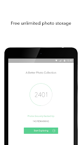 screenshot of Shoebox - Photo Storage and Cloud Backup version Varies with device