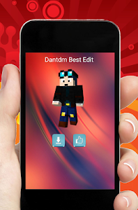 screenshot of Skins Youtubers for Minecraft version 1.1.2