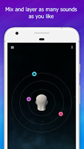screenshot of Sleep Orbit: Relaxing 3D Sounds, White Noise & Fan version Varies with device