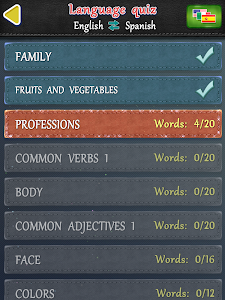 screenshot of Slice Words version 1.25