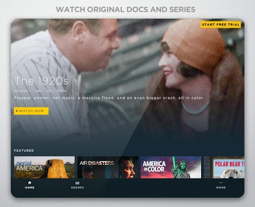 screenshot of Smithsonian Channel version Varies with device