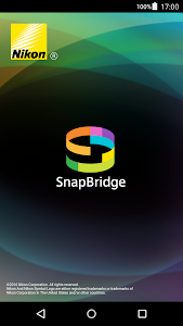 screenshot of SnapBridge version 1.3.0.3000