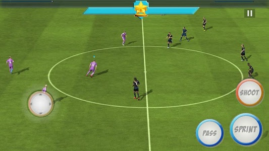 screenshot of Incredible Soccer version 1.0