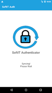 screenshot of SoftIT Authenticator version 2.1