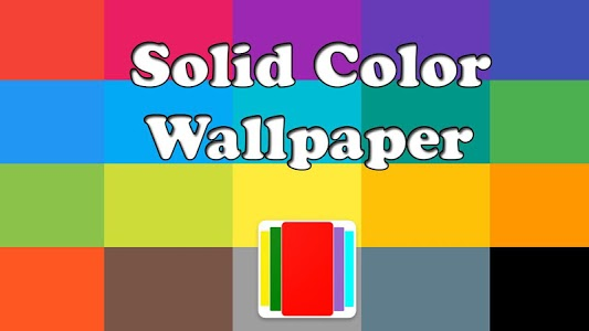 screenshot of Solid Color Wallpapers version 1.0