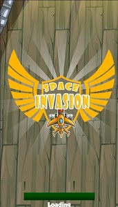 screenshot of Space Invasion Game 2019 version 2.0