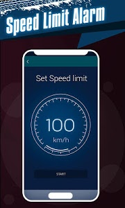 screenshot of Speedometer: Car Heads Up Display GPS Odometer App version 2.7