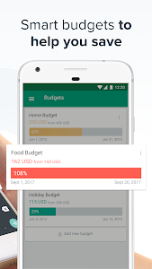 screenshot of Spendee - Budget and Expense Tracker & Planner version 4.1.13
