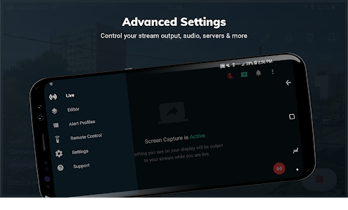 screenshot of Streamlabs - Stream Live to Twitch and Youtube version 2.2.1-104