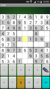 screenshot of Sudoku free version 13