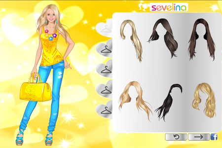 screenshot of \u2600Sunny dress up game for girls version 2.0.1