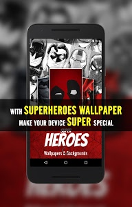 screenshot of SuperHeroes Wallpaper version 1.0.0