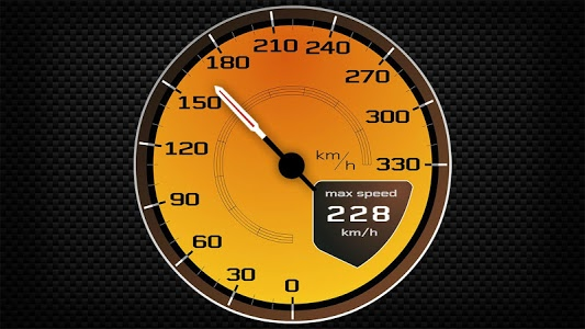 screenshot of Speedometers & Sounds of Supercars version 2.2.1