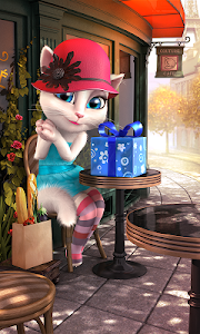 screenshot of Talking Angela version 2.8.2
