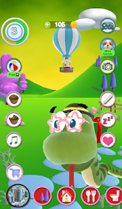 screenshot of Talking Snake version 2.21