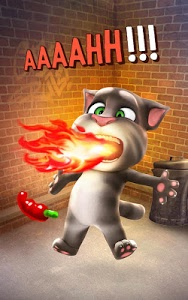 screenshot of Talking Tom Cat version 3.6.10.10