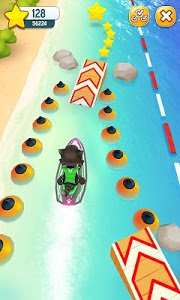 screenshot of Talking Tom Jetski version 1.2.1.17