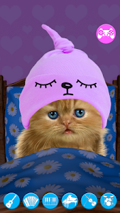 screenshot of Talking baby cat. version Varies with device