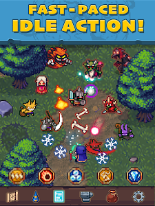 screenshot of Tap Wizard: Idle Magic Quest version 3.1.4