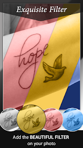 screenshot of Tattoo Name On My Photo Editor version 3.19