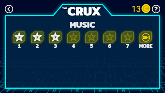 screenshot of The CRUX version 1.1.2
