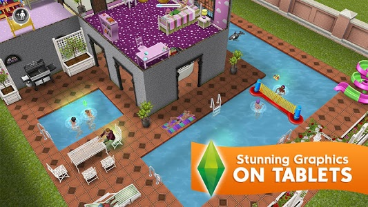 screenshot of The Sims\u2122 FreePlay version 5.46.0