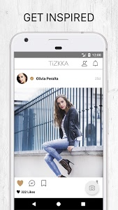 screenshot of TiZKKA fashion and outfit ideas, shop the look version 4.5.24