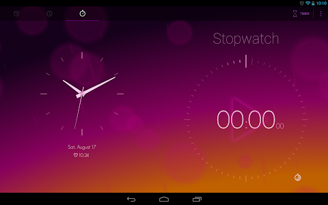 screenshot of Timely Alarm Clock version 1.3.2