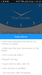 screenshot of Timetracker version 2.13