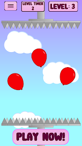 screenshot of Too Many Balloons version 2