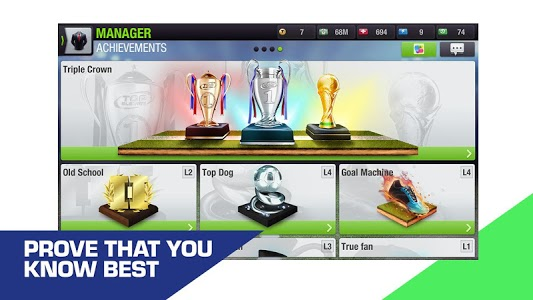 screenshot of Top Eleven 2019 - Be a soccer manager version 8.13