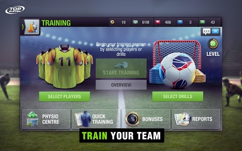 screenshot of Top Eleven 2019 - Be a soccer manager version 8.4.1