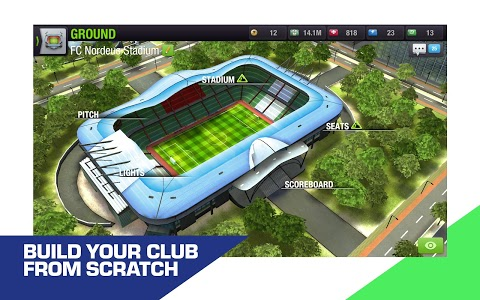 screenshot of Top Eleven 2019 - Be a soccer manager version 8.6